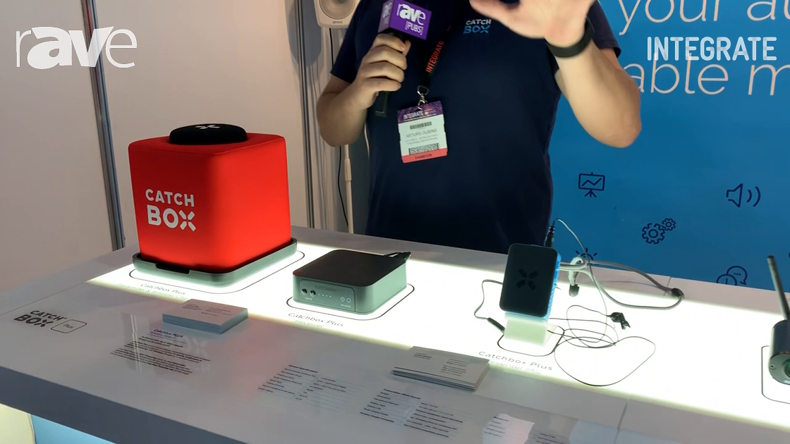 Integrate 2019: Catchbox Features the Catchbox PLUS Wireless Microphone System