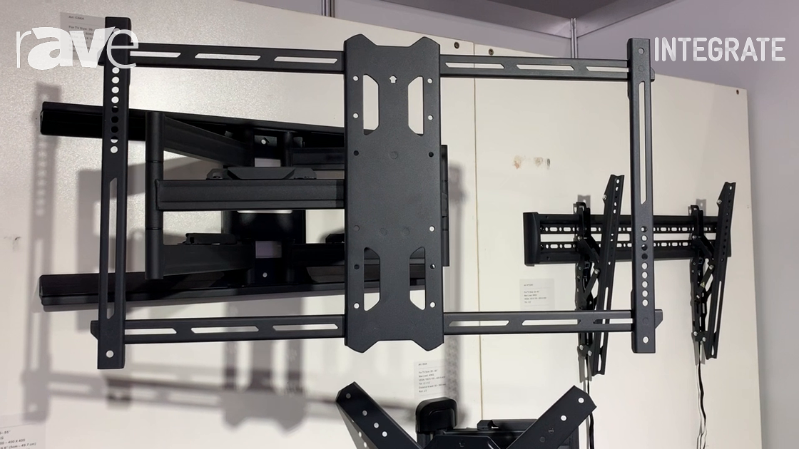 Integrate 2019: Cenkotech Shows Off TV Bracket and Wall Mount Solutions