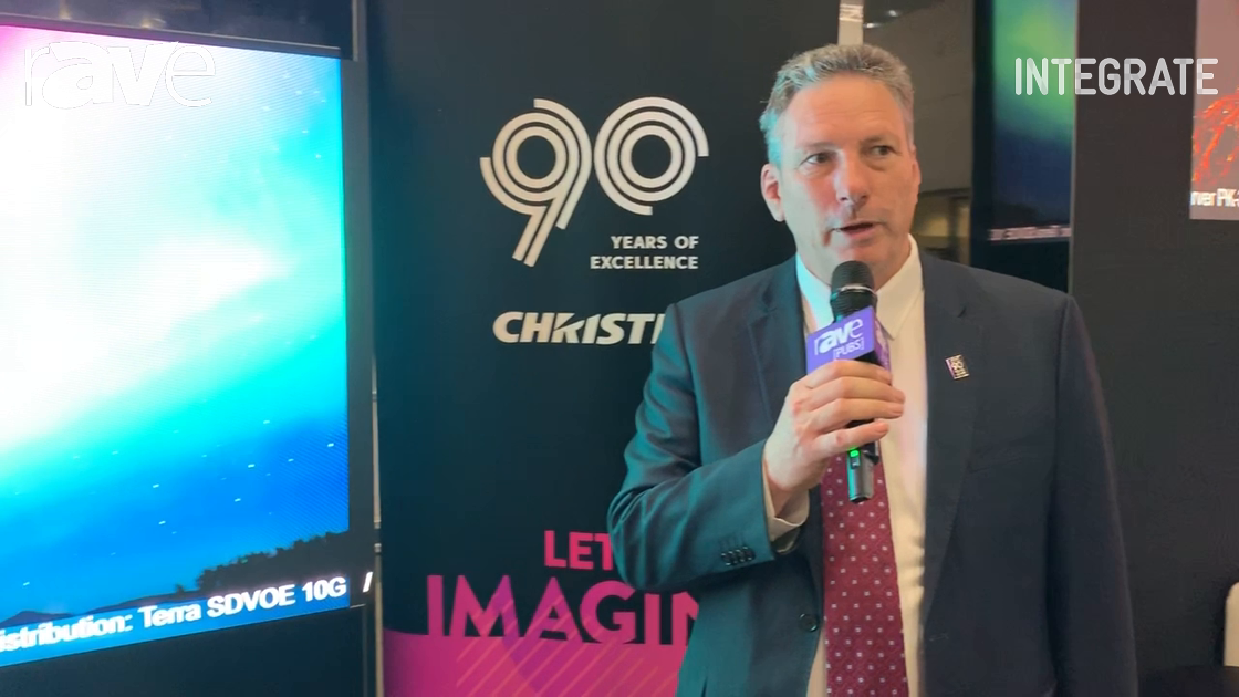 Integrate 2019: Christie Features Its MicroTiles LED