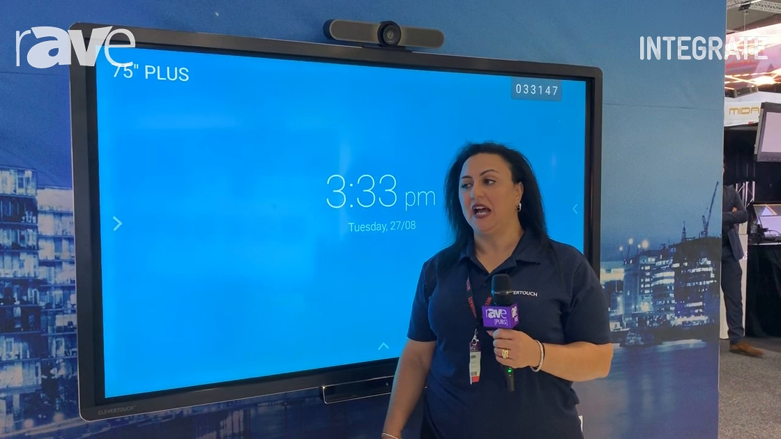 Integrate 2019: Clevertouch Shows Interactive Panel Classroom Solution on the ASI Solutions Stand