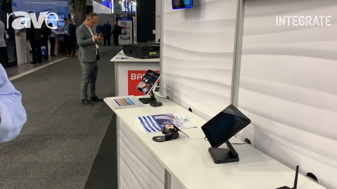 Integrate 2019: AV Distributors Shows Touch Panels, Digital Signage Displays and Players