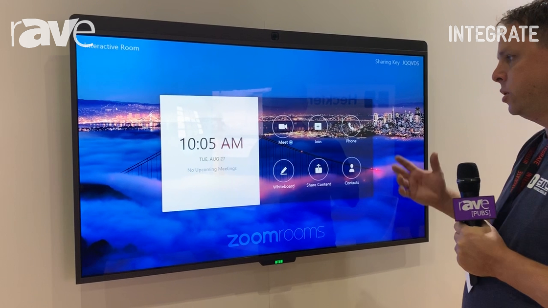 Integrate 2019: BTC Wholesale Talks About DTEN D7 Interactive 4K Display with Zoom Integration