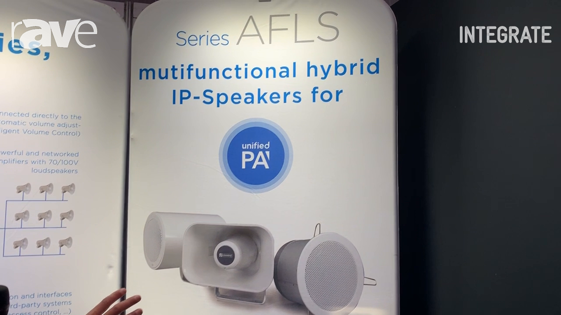 Integrate 2019: Commend Australia Overviews IP Speaker Systems With Built-In Microphones