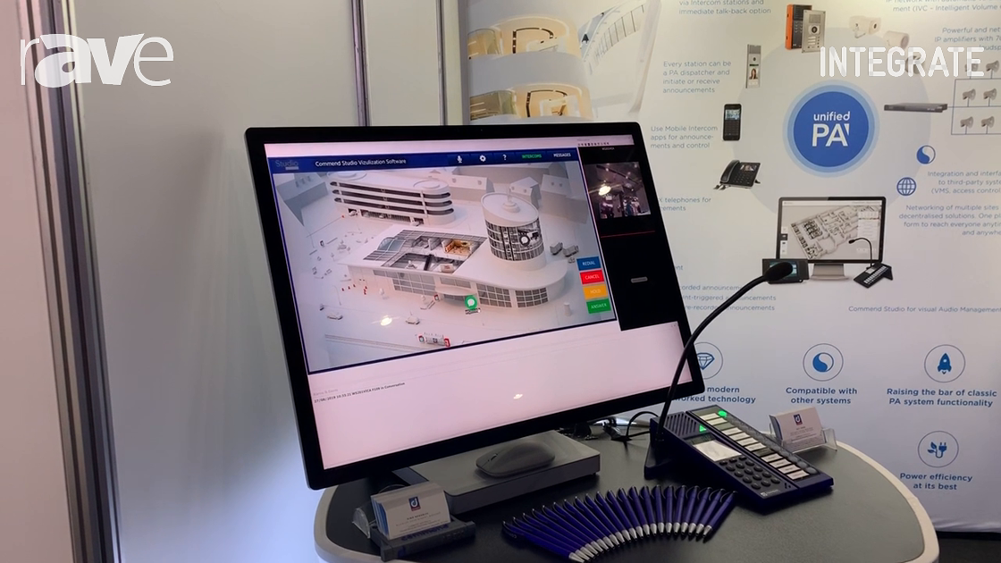 Integrate 2019: Commend Australia Demos Commend Studio Visualization Software for Intercom Control