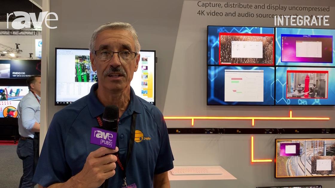 Integrate 2019: Jupiter Features the PixelNet 2.0 Videowall Processor on Midwich Stand
