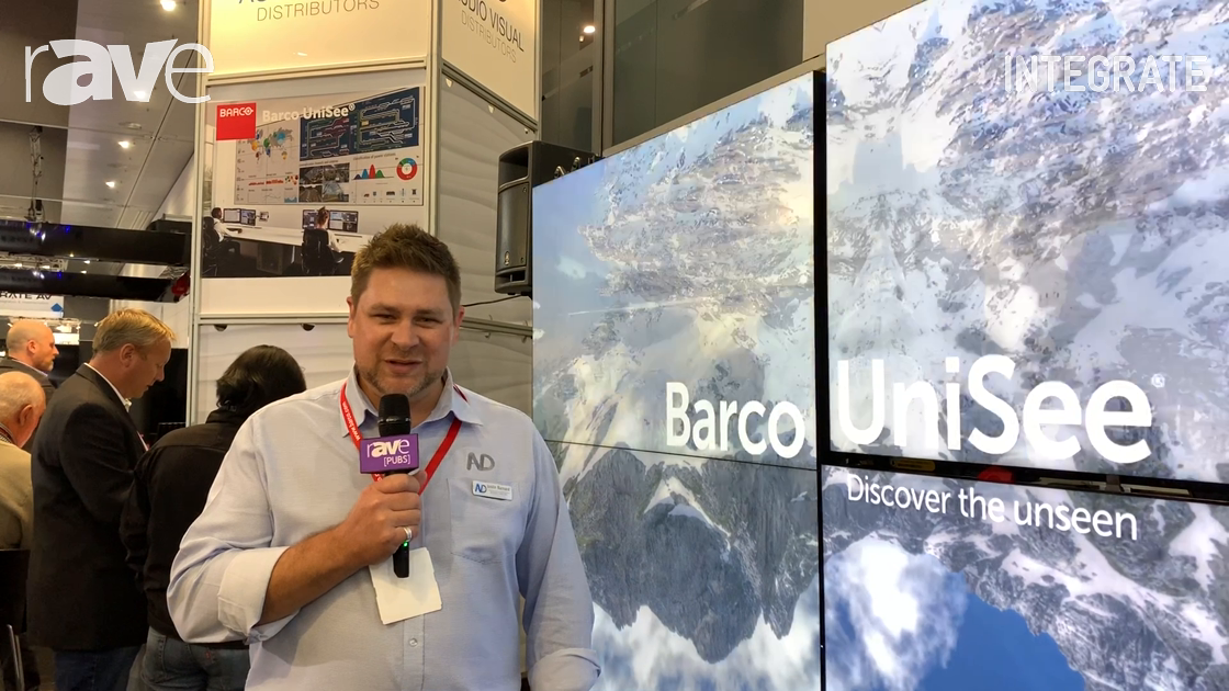 Integrate 2019: Barco Showcases the Unisee Modular Video Wall System at AV Distributors