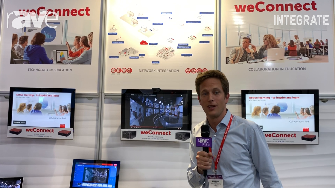 Integrate 2019: Barco Shows weConnect Interactive Collaboration Product for ED at AV Distributors