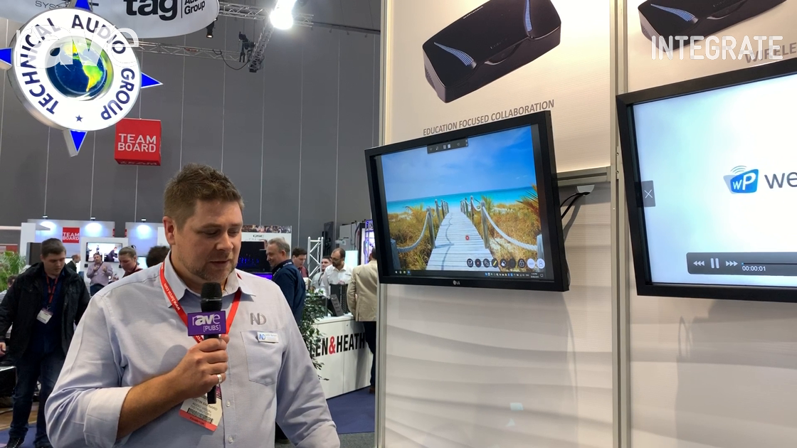Integrate 2019: AV Distributors Talks About the Barco wePresent Wireless Presentation System