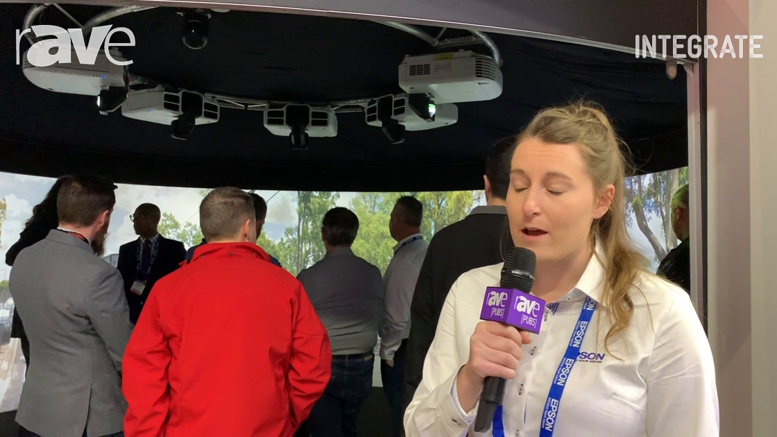 Integrate 2019: Epson Demos 270° Immersive Dome With Five High Brightness Laser Projectors