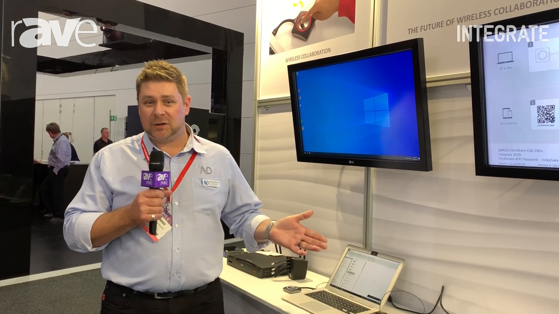 Integrate 2019: Barco Overviews the Entire ClickShare Product Line at AV Distributors