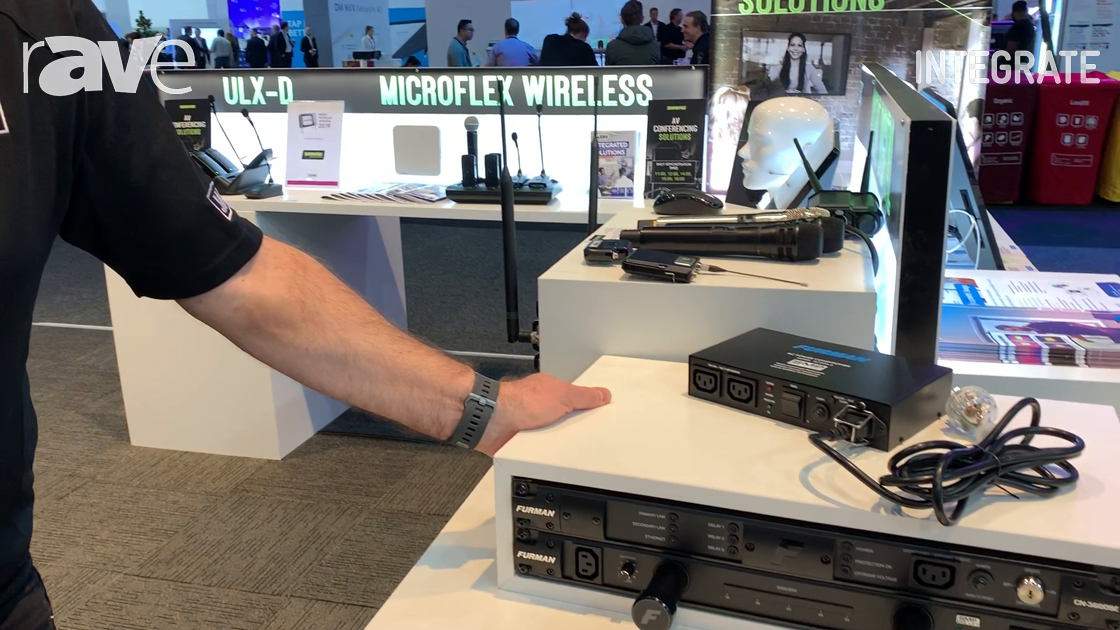 Integrate 2019: Furman Shows CN-3600SE 16-Amp SmartSequencing Power Conditioner on the Jands Stand