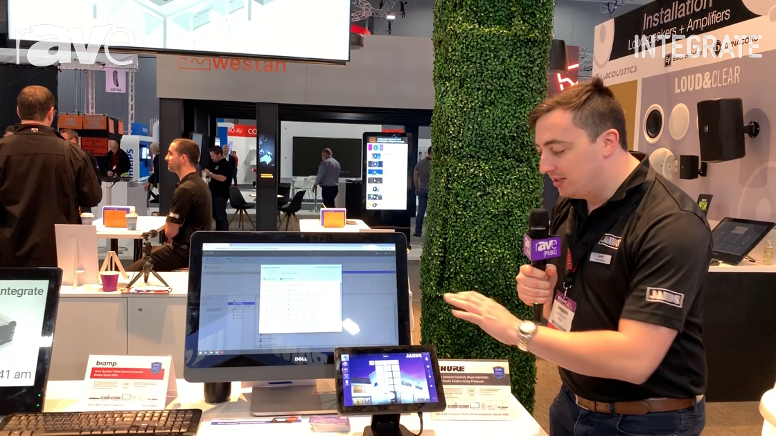 Integrate 2019: Aveo Systems Shows Mira Connect Hardware and Cloud-based Control System at Jands