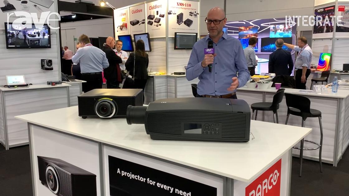 Integrate 2019: Barco Showcases Its F80 and G60 Projectors at AV Distributors