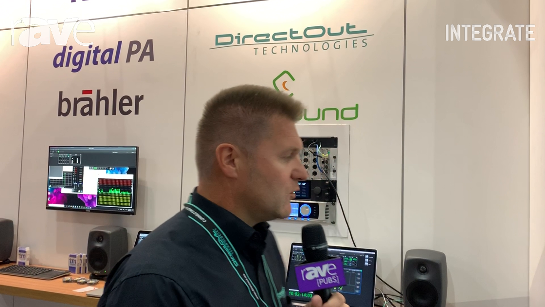 Integrate 2019: DirectOut Technologies Shows Prodigy MC Modular Converter at TM Stagetec System