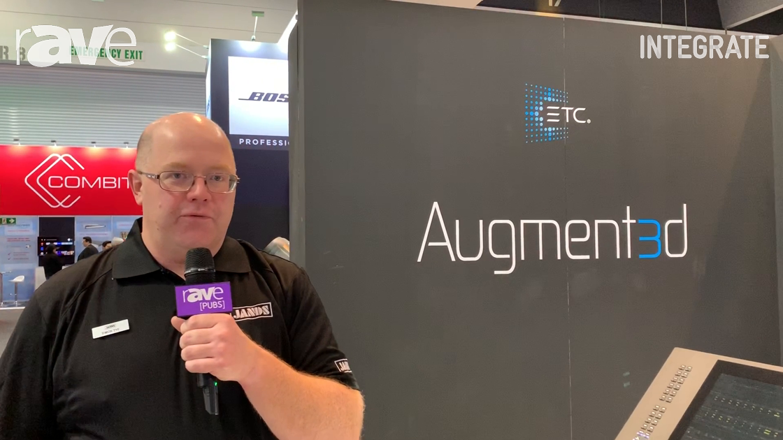 Integrate 2019: Jands Talks About the New Free ETC Augment3d Software