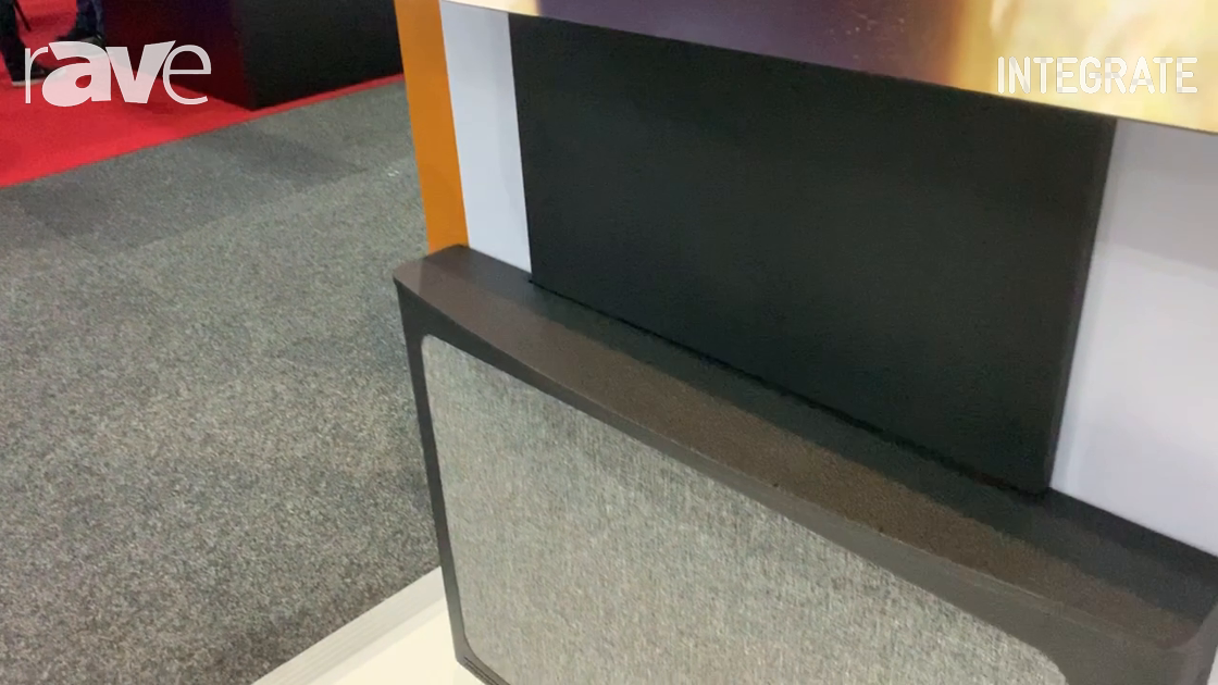 Integrate 2019: Chief Demos the New AVSFSS Flat Panel Floor Support Mount in the AV Supply Stand