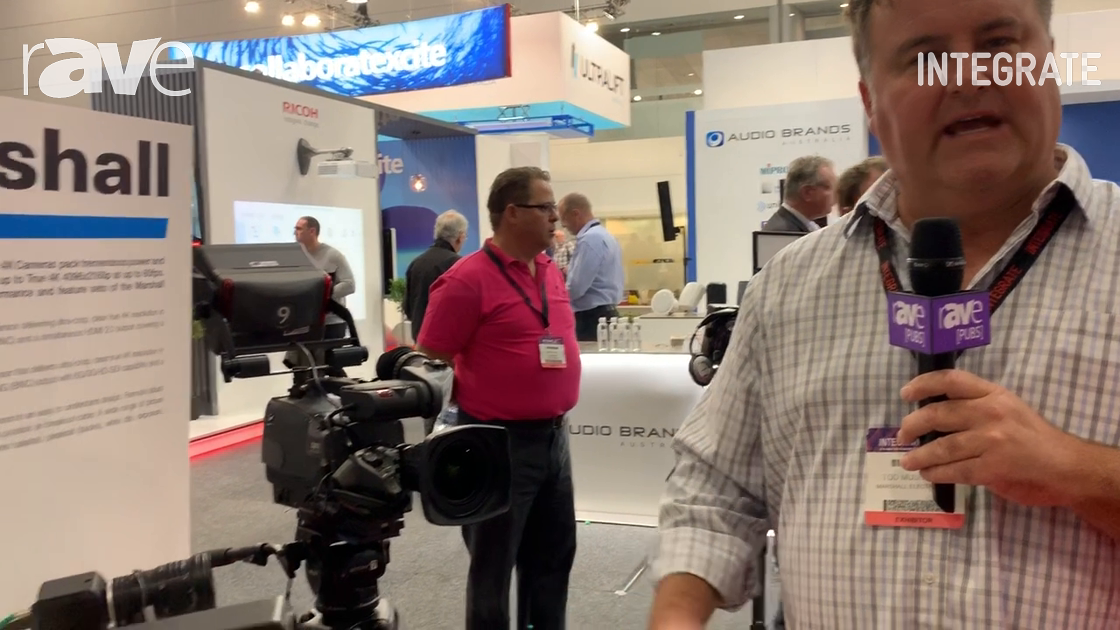 Integrate 2019: Corsair Solutions Demos the New 4K Marshall Electronics Cameras