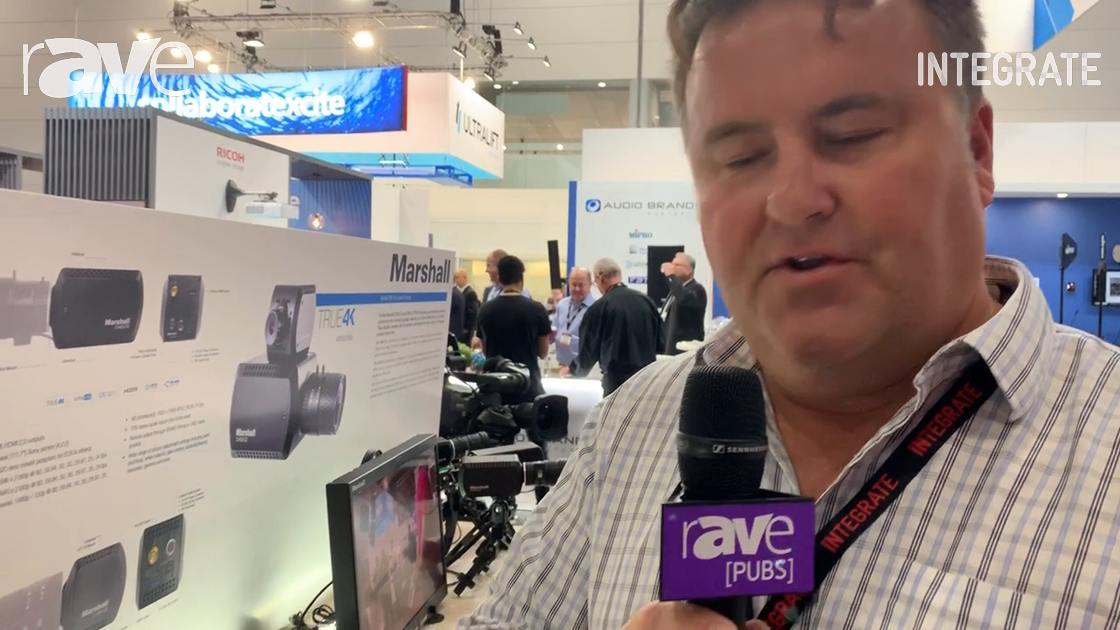 Integrate 2019: Corsair Solutions Explains the Features of Marshall Electronics POV Cameras