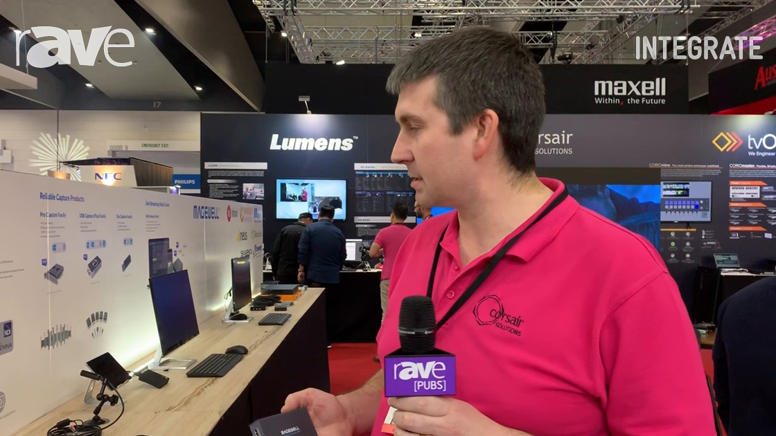 Integrate 2019: Corsair Solutions Shows the Magewell Line of Broadcast NDI Adapters