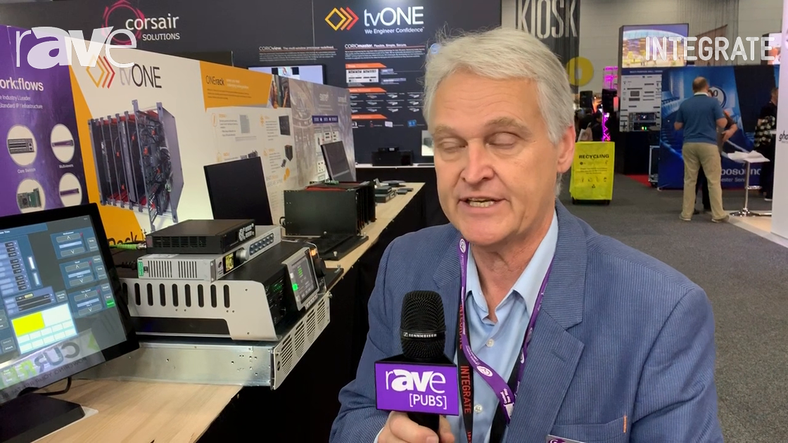 Integrate 2019: Grass Valley Features the Kula Vision Mixer on the Corsair Solutions Stand