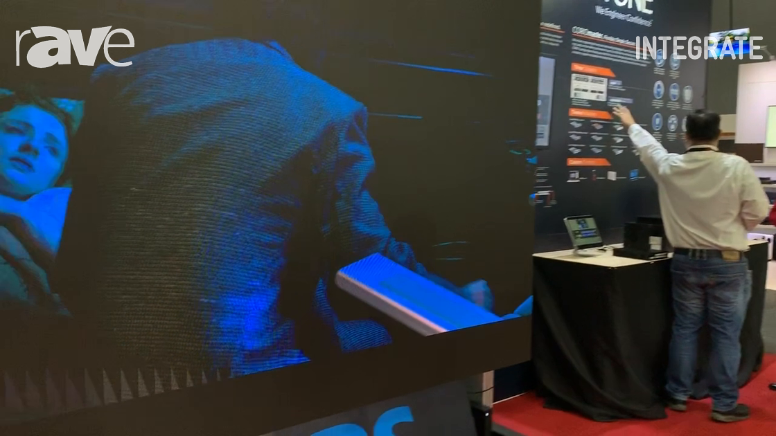 Integrate 2019: Philips Demos the L-Line Pre-Packaged LED Panel Products at Corsair Solutions