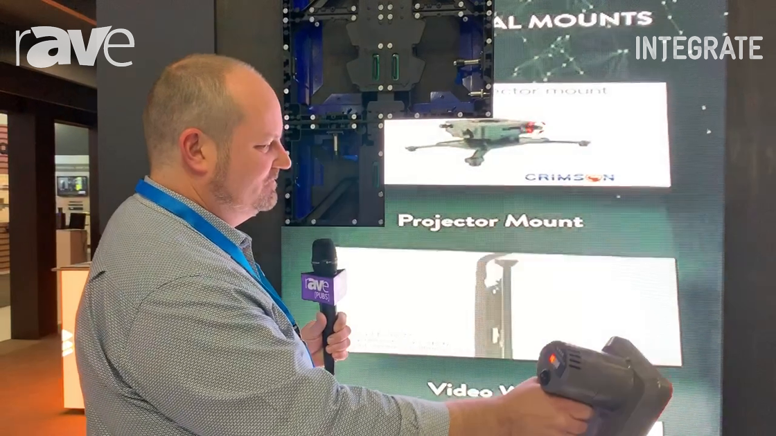 Integrate 2019: Aurora Signage Demos Clever LED Wall Vacuum Service Tool on the Westan Stand