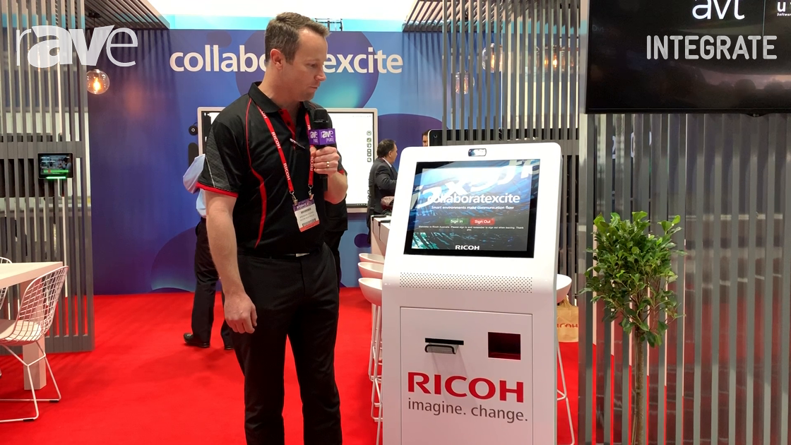 Integrate 2019: Ricoh Overviews Visitor Sign-In Kiosk Software Solution