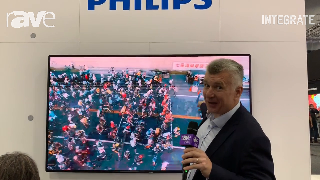 Integrate 2019: Philips Debuts 110″, 1.2mm Pixel Pitch LED Display