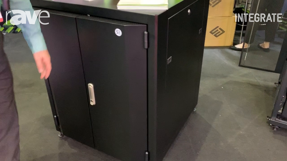 Integrate 2019: ServerEdge Introduces a Sound-Proof Rack Unit Cabinet