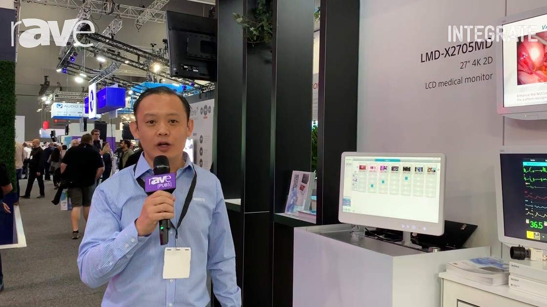 Integrate 2019: Sony Explains Its NUCLeUS Video-Over-IP Platform for Healthcare Applications