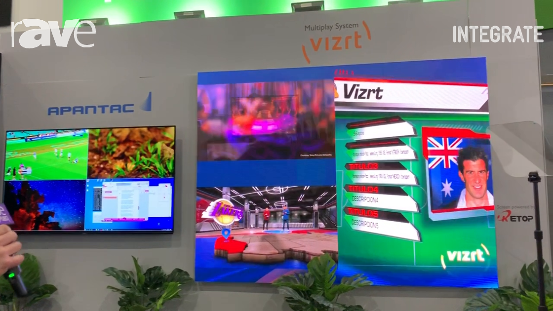 Integrate 2019: Techtel Presents Vizrt Multiplay Video Server Platform for Real-time Live Production
