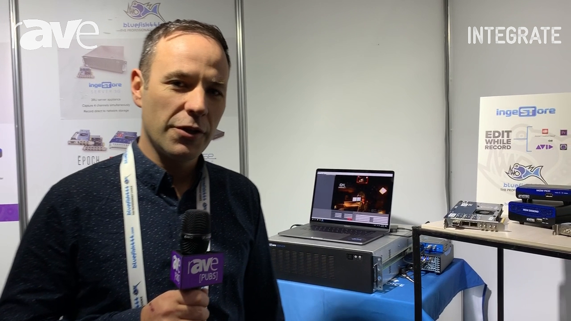 Integrate 2019: bluefish444 Features VITEC MGW 4K Encoder and Decoder Products