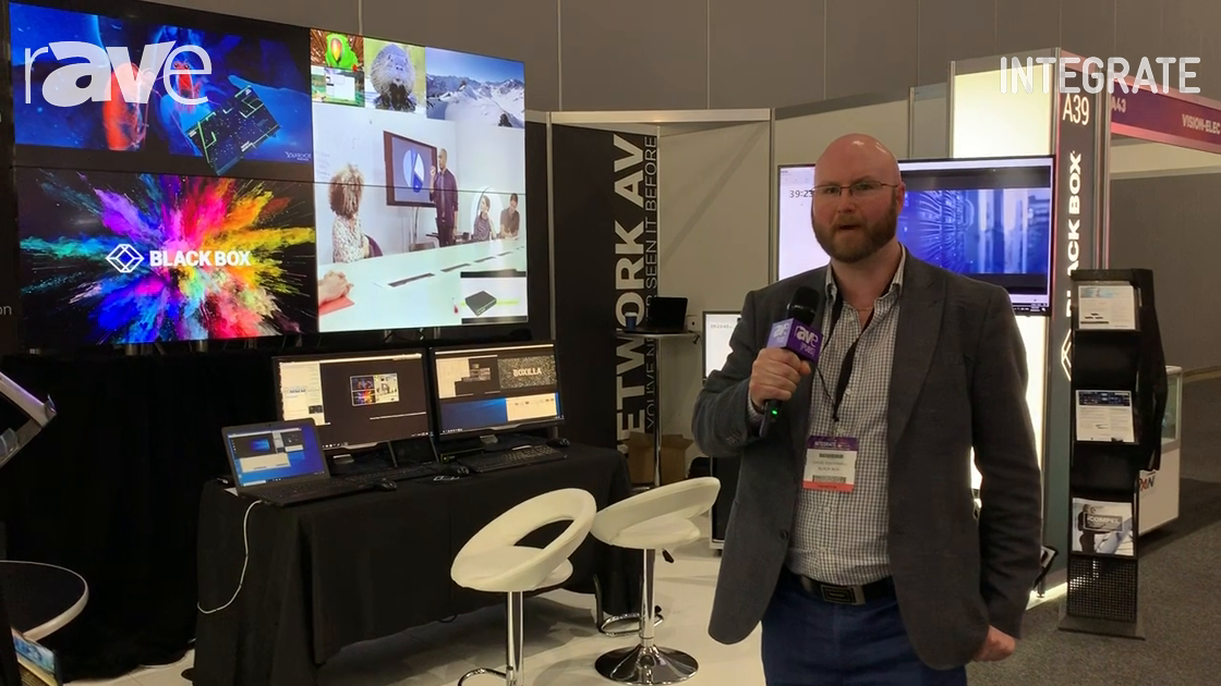 Integrate 2019: Black Box Talks About Emerald 4K KVM-Over-IP Matrix Switching