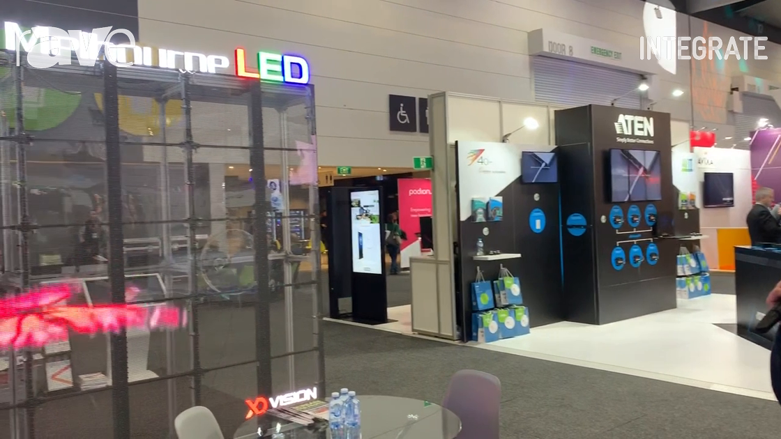 Integrate 2019: Melbourne LED Shows Off Its Transparent LED Screen