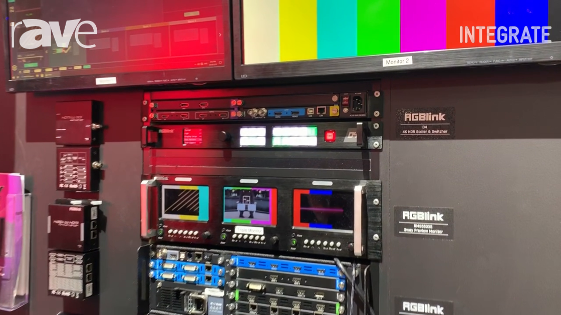 Integrate 2019: RGBlink Showcases Its D4 4K HDR Switcher and Scaler