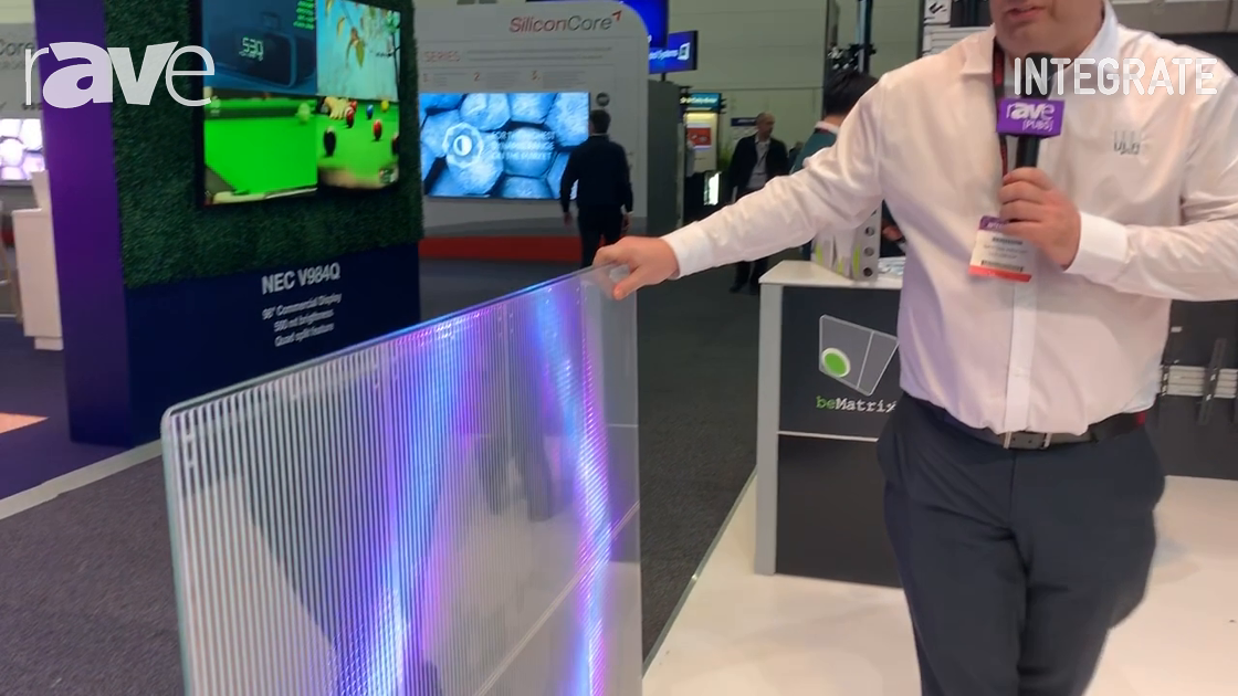 Integrate 2019: VuePix Debuts TM Series LED Display for Retail Applications on the ULA Group Stand