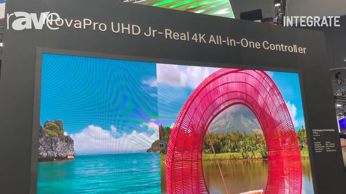 Integrate 2019: NovaStar Tech Introduces NovaPro UHD Jr Video Wall Controller