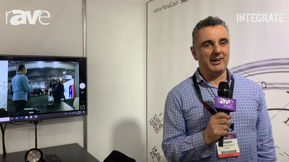 Integrate 2019: Jabra Showcases 180-Degree PanaCast Camera for UCC Applications