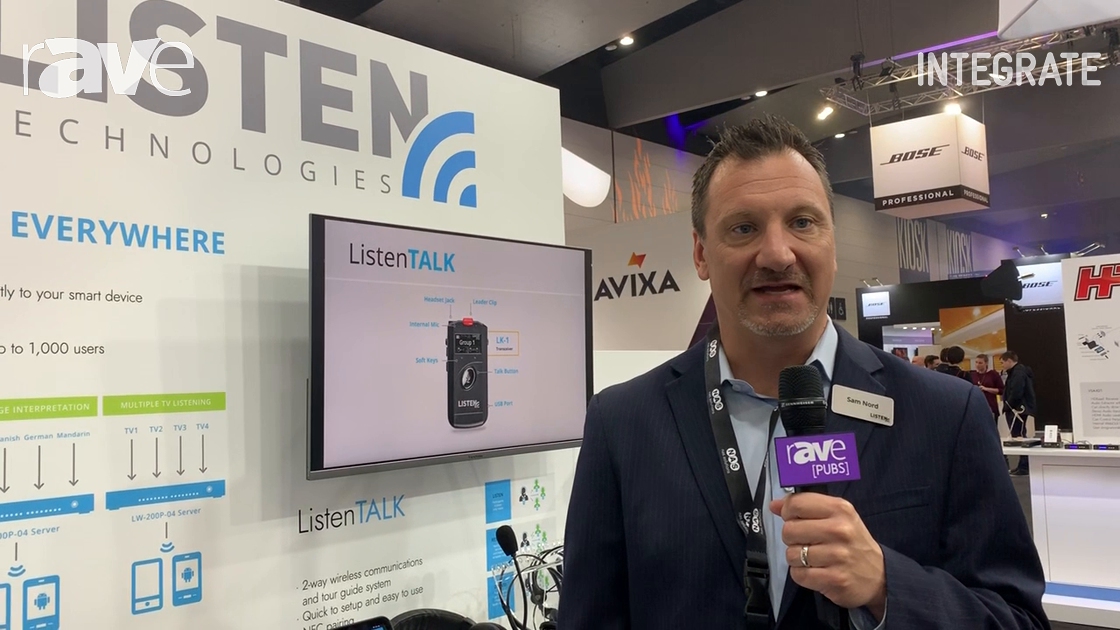 Integrate 2019: Listen Technologies Talks ListenEverywhere Audio-Streaming Solution at NAS Solutions