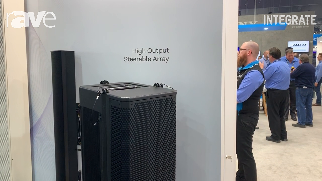 Integrate 2019: Renkus Heinz Debuts IC Live X Loudspeaker on Hills Stand