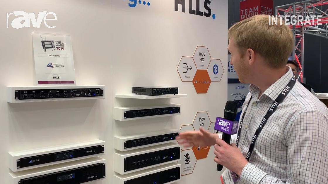 Integrate 2019: Australian Monitor Describes PicoBlu 30W Mixer/Amplifier