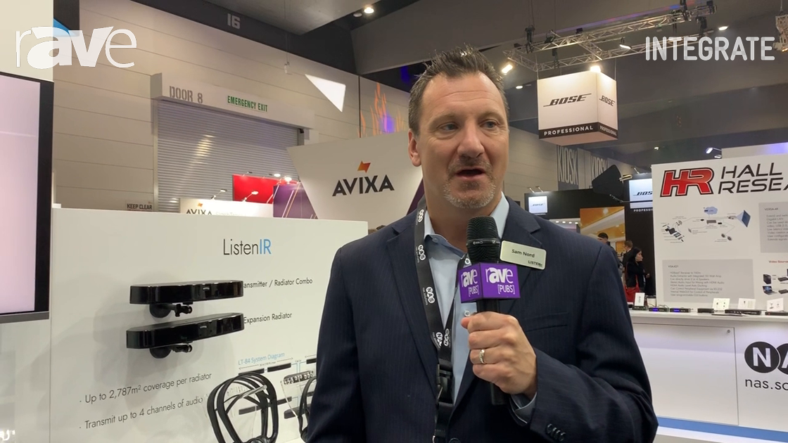 Integrate 2019: Listen Technologies Shows ListenTalk 2-Way Wireless Communication at NAS Solutions