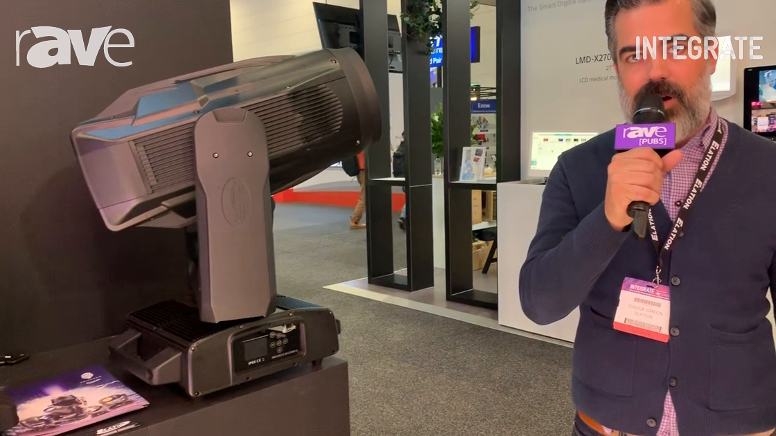 Integrate 2019: Elation Professional Talks About Proteous Maxiumus Outdoor LED Moving Head Lighting