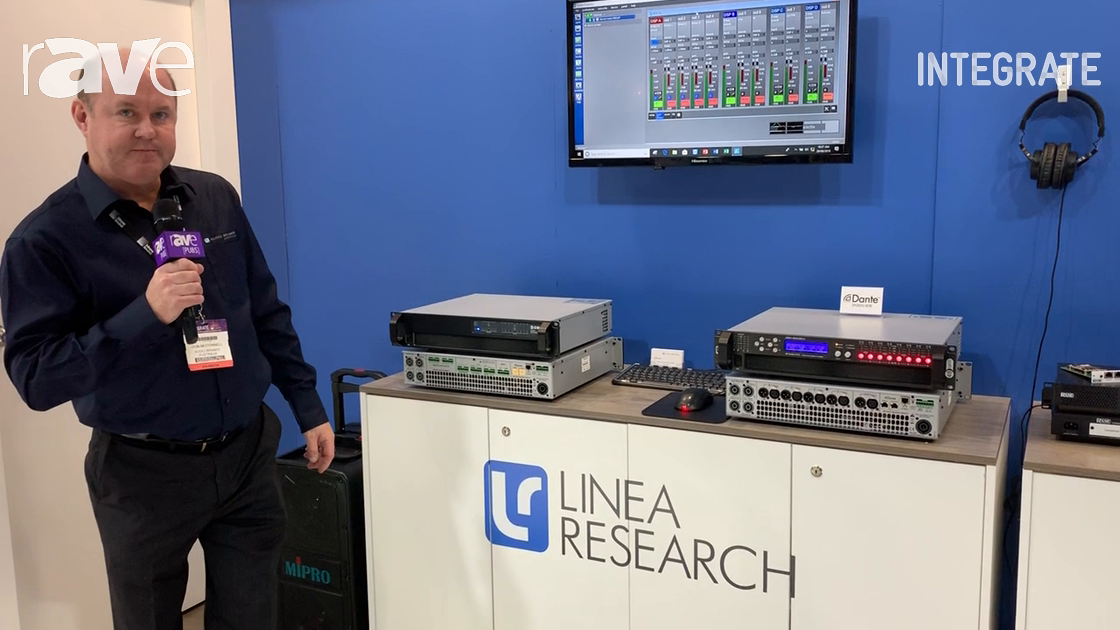 Integrate 2019: Audio Brands Australia Showcases the Linea Research Power Amplifiers