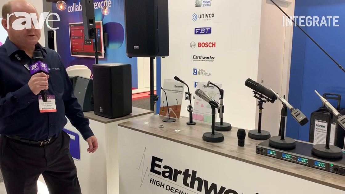 Integrate 2019: Audio Brands Australia Presents the Earthworks Audio Microphone Range of Products