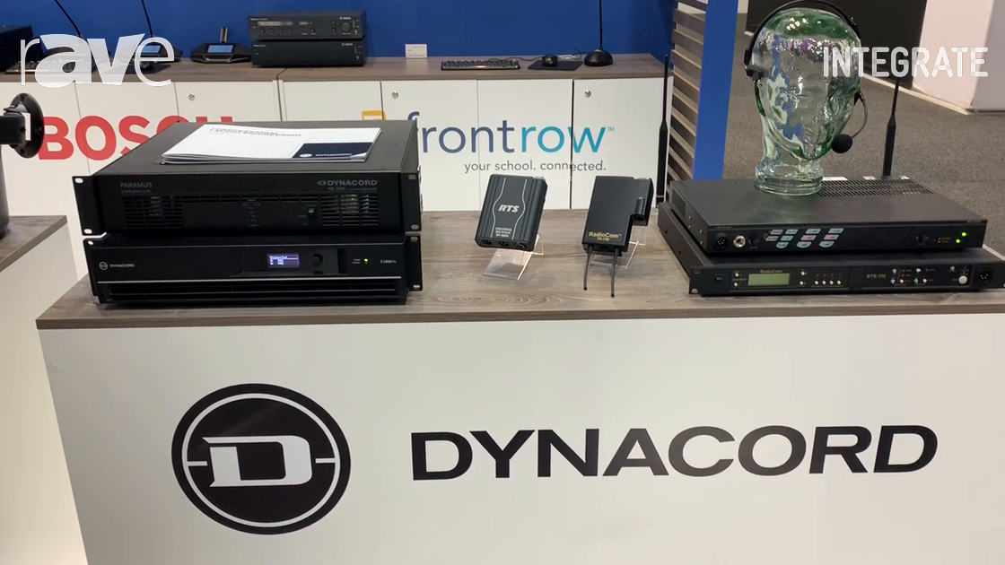 Integrate 2019: Audio Brands Australia Shows Off Dynacord Power Amplifiers and RTS Intercom Systems