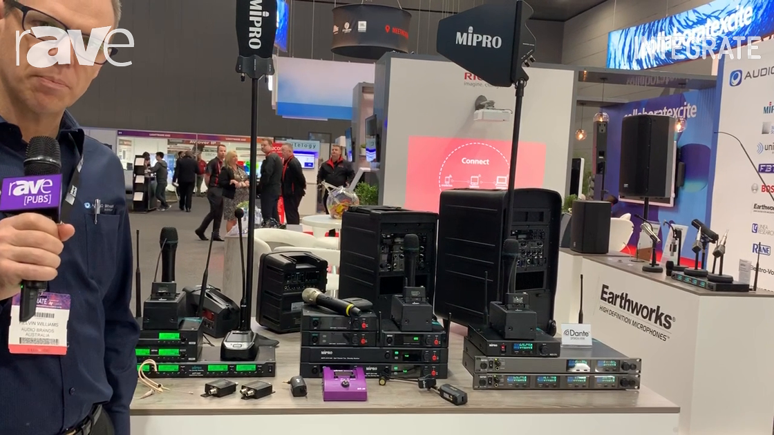 Integrate 2019: Audio Brands Australia Highlights Mipro Audio Transmitter Systems