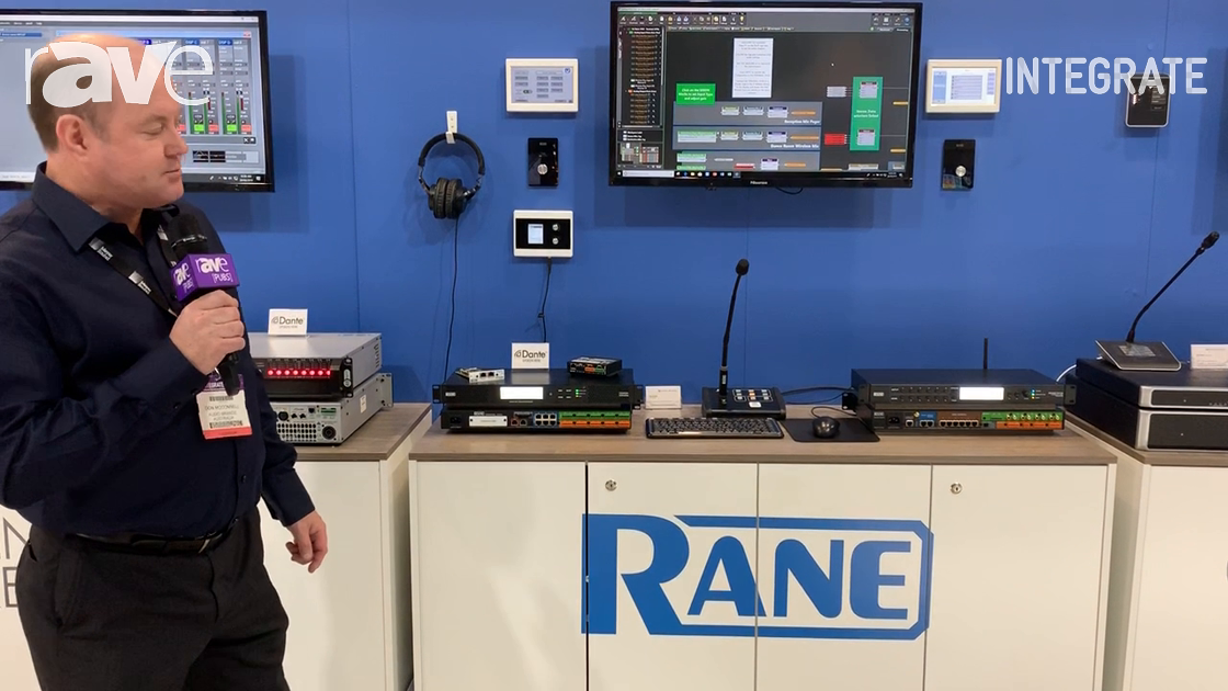 Integrate 2019: Audio Brands Australia Showcases Rane Corporation Products, Including Terminal 1010X