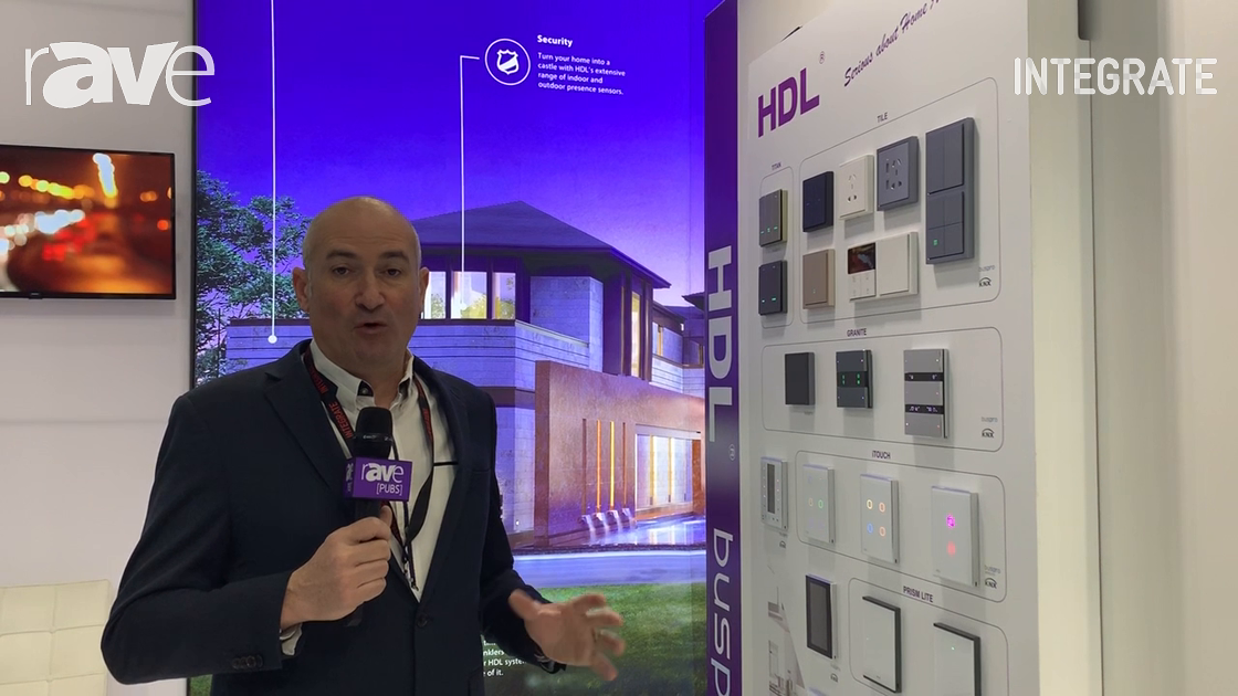 Integrate 2019: HDL Automation Exhibits Wired and Wireless Home Switches