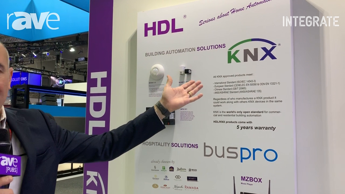 Integrate 2019: HDL Automation Intros KNX Product Range